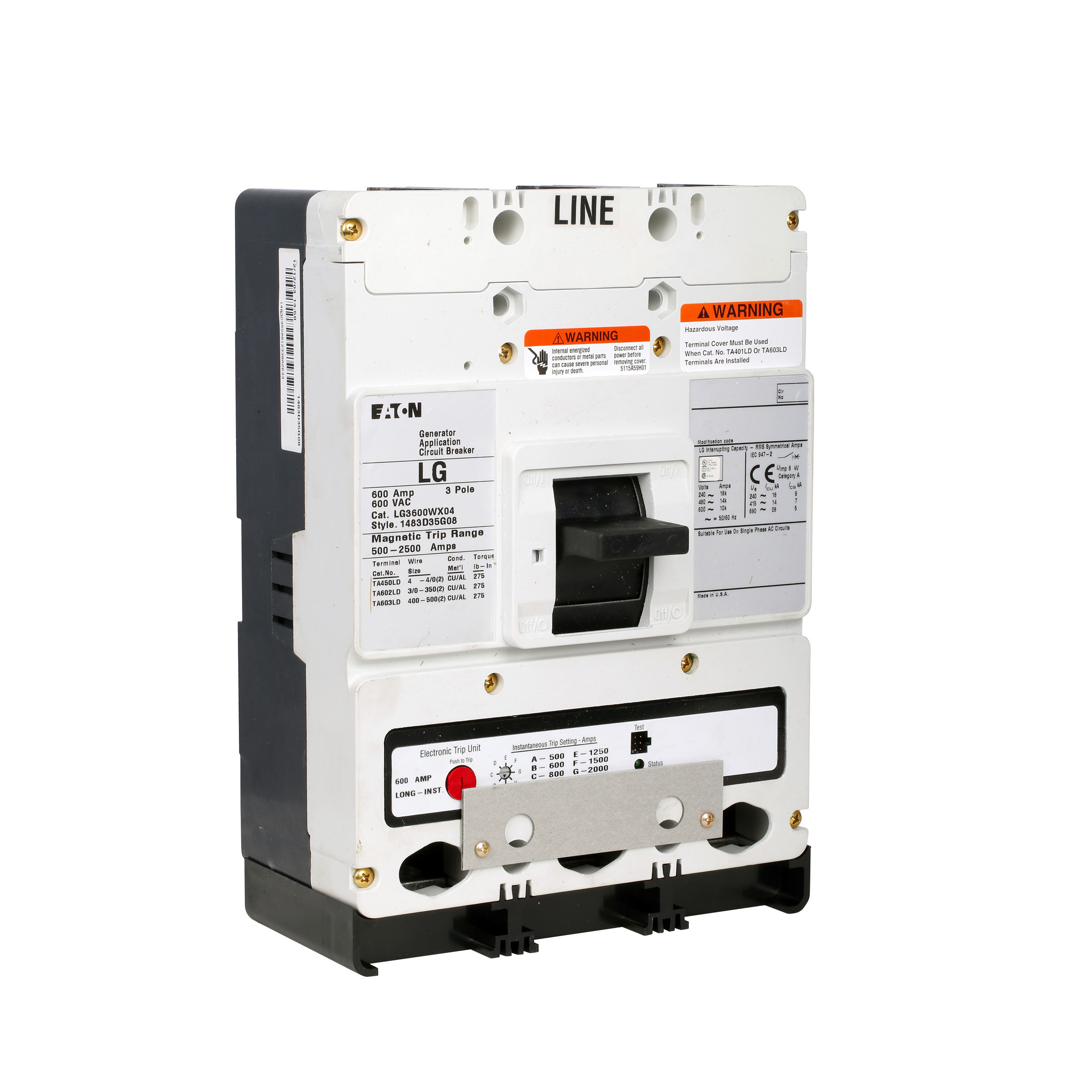 C H Lg3450s03 Frost Electric Circuit Breaker Dc Generator W 12 24 Vac Or Sh Mouse Over Image To Zoom Click Enlarge