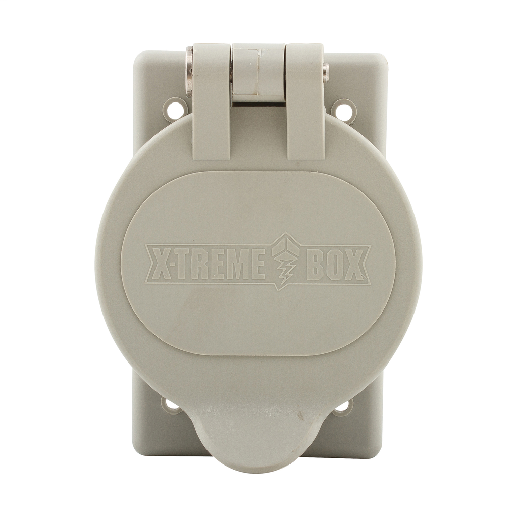 EWD WP2 Cover 1G WP Inlet/Outlet Ny