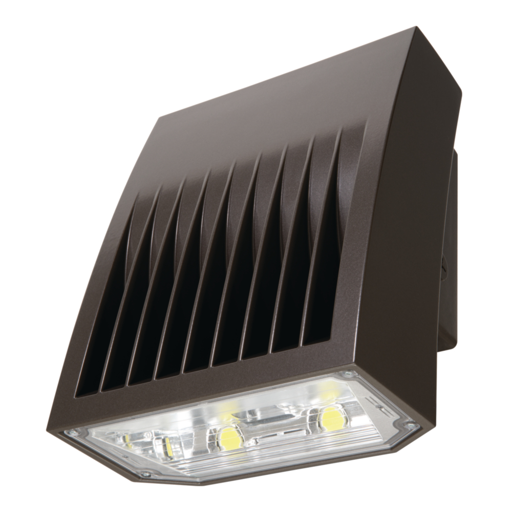 LUM XTOR3B 26W LED BRONZE 120/277V WALL PACK