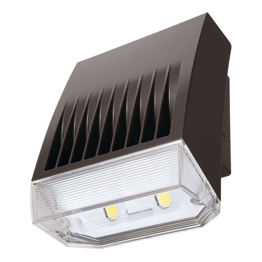 LUM XTOR8BRL CROSSTOUR LED WALLPACK REFRACTIVE LENS 80W 5000K 120-277V