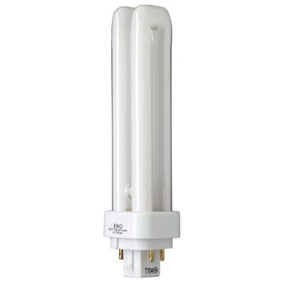 18W Quad-Tube 4100K G24q2 4 Pin Base Fluorescent