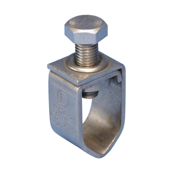 CAD SP58 CLAMP,GROUNDING,ROD 1/2 THRU 5/8 ROD,SS