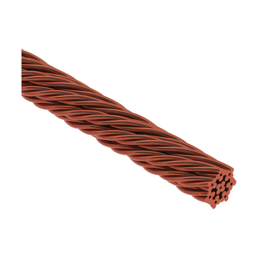 "CAD LPC126R250 NON-INSD STRANDED CONDUCTOR FOR LIGH PROTECT COPPER ROPELAY 0.47"" DIA 250FT X 115.08 KCMIL"