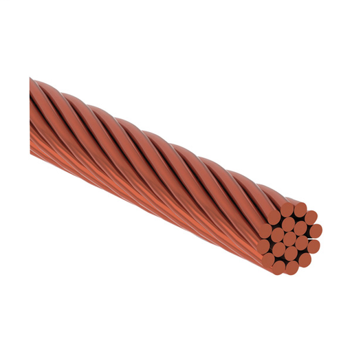 CAD LPC134250 NON-INSULATED STRANDED CONDUCTOR FOR LIGHTNING PROTECTION, COPPER, CONCENTRIC, 0.5IN DIA, 250FT X 133.12 KCMIL