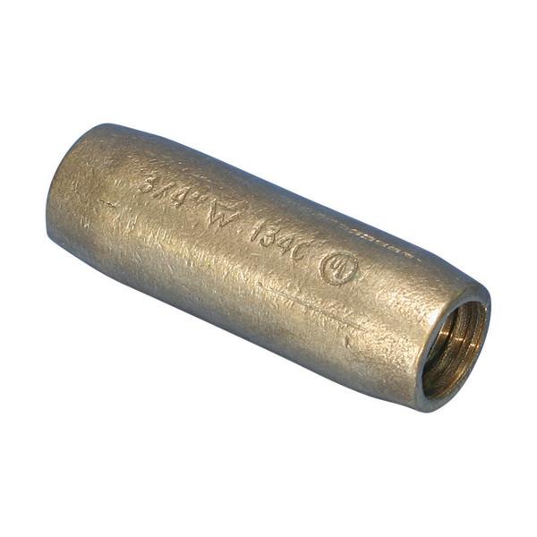 ERITECH Threaded Coupler for Copper-Bonded Ground Rod, Sectional CR34