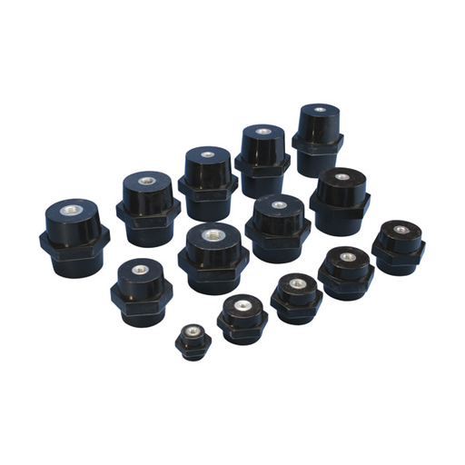 ISO Low Voltage Insulators, Imperial Thread ISO2-38-16 (559680)