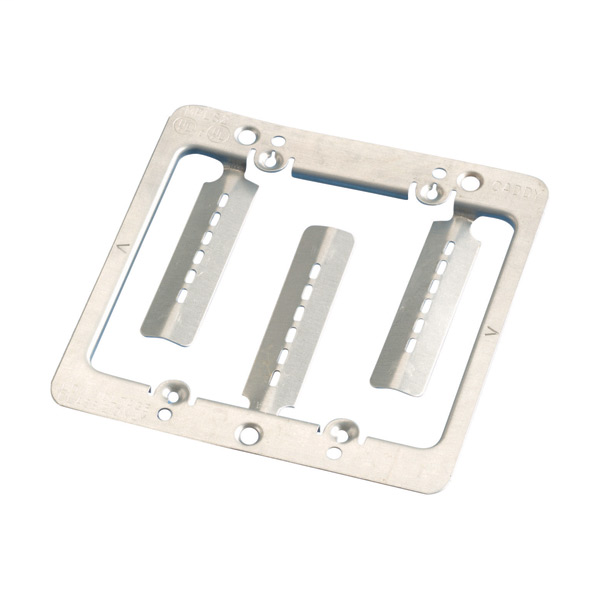 Low Voltage Mounting Plate with Screws MPLS2