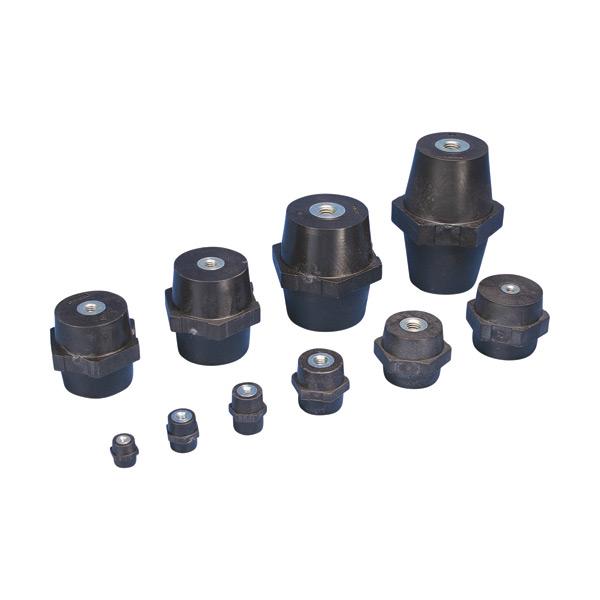 ERITECH ISO-TP Low Voltage Insulators, Metric Thread ISOTP25M6 (548430)
