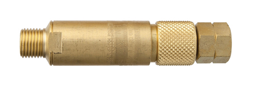 Kwik-Connect Coupling - Fuel - FlameBuster Plus Flashback Arrestor for Fuel Gas with Kwik-Connect Coupling Components FBP-1
