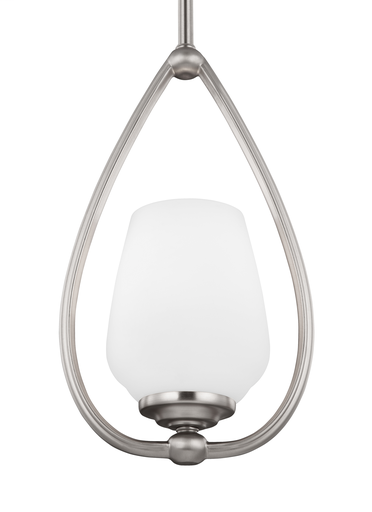 MURF P1329SN 1 LIGHT MINI-PENDANT SATIN NICKEL