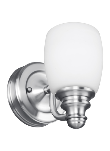 MURF VS7401-CH 1 BULB CHROME VANITY H 6.5 W 5 E 7