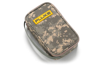 FLUK CAMO-C25 CAMOUFLAGE CARRYING CASE FOR FLUKE MULTIMETERS, PROCESS,TEMP