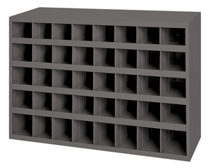 large 40 compartment steel open storage bins 85 deep w x 812 d x