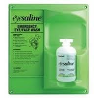 Fendall 460 Sterile Single 16 Oz Eye Wash Station Wall Mount Emergency Eyewash