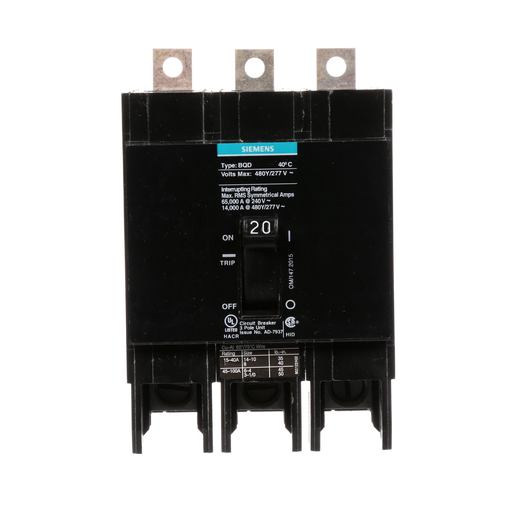 Circuit Protection Devices Siemens Panelboard Breakers (Bolt