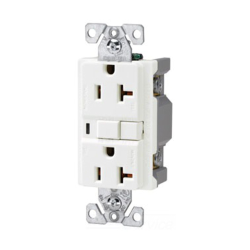 Shop Cooper Wiring Devices 20amp 125volt White Gfci Decorator Tamper on gfci switch outlet combo diagram, 20 amp single outlet, 20 amp plug adapter, 20 amp outlet receptacle, 20 amp dedicated outlet, 20 amp receptacle 277 volt, 20 amp outlet cover, 20 amp 220v outlet, 20 amp power outlet, 20 amp gfci outlet, electrical outlet installation diagram, 20 amp switch, 20 amp to 30 amp rv plug, 20 amp outlet plug, 120v 20 amp outlet diagram, 20 amp wall outlet, 20 amp outlet types, two wire outlet diagram, 220v sub panel diagram, 20 amp gfci wiring diagrams,