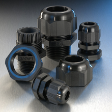 Crouse Hinds NCG38-35 3/8 Inch Hub Cord Grip .10 -.35 In Cable Range Non-Metallic Watertight Nema 4X