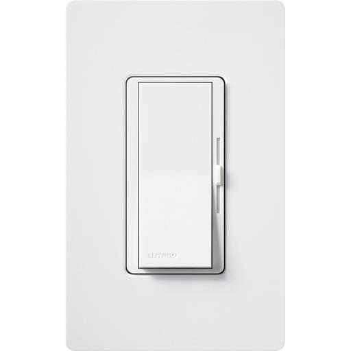 Lutron Dvtvwh White Diva 010v Led Dimmer Switches For Low Voltage