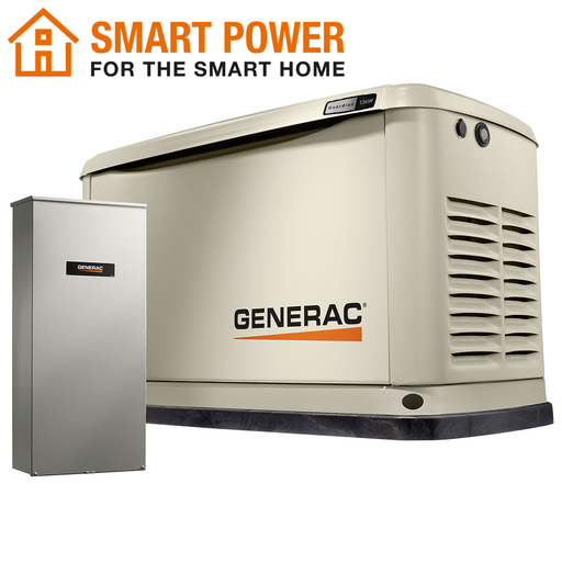 Guardian 13kW Home Backup Generator with Whole House Switch WiFi-Enabled