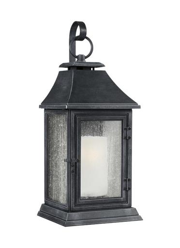 Mayer-Shepherd Small Lantern Dark Weathered Zinc-1