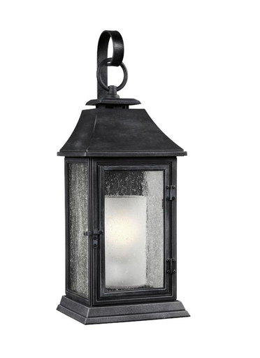 Mayer-Shepherd Medium Lantern Dark Weathered Zinc-1