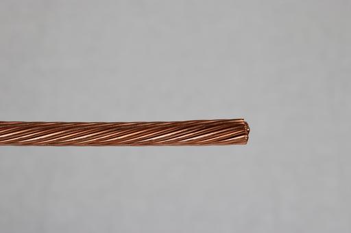 Bare Copper Wire - 6 AWG - 7 Strand - 315' Spool