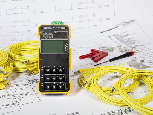 9 Point Temperature Monitoring Module with LCD Display and Ethernet/IP™ Communication