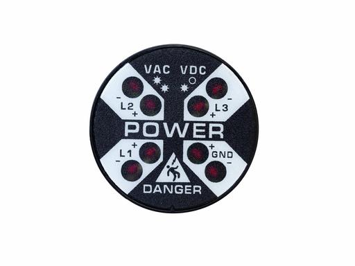 Voltage Indicator with Flashing LEDs