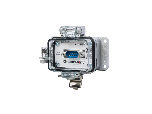 Panel Interface Connector with DB-9 F/M - Panel Mount Housing - UL Type 4 - No outlet/power option