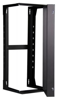 "Mayer-SR Swing Rack, 24'H x 18""D, Black-1"