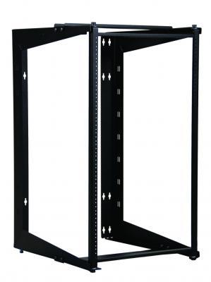 "Mayer-SRD Swing Rack, 24""H x 24""D, Black-1"