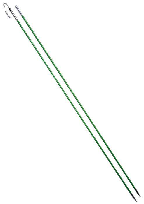 Greenlee 540-24 Clear Plastic Bullet Nose and J-Hook Short Fishing Rod