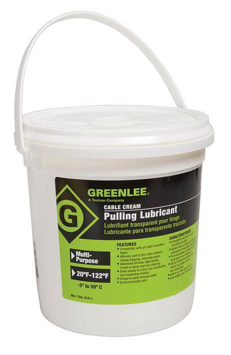 Greenlee CRM-1 Cable-Cream™ Cable Pulling Lubricant, 1-Gallon