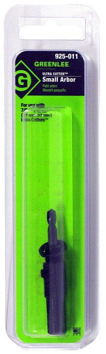GREENLEE 925-011 SMALL HOLE CUTTER ARBOR 10163