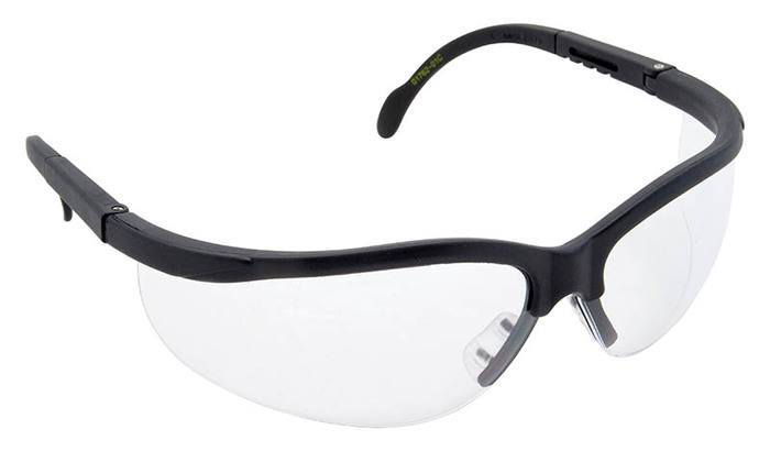 GRE 01762-01C SAFETY GLASSES, TRADESMAN, CLEAR