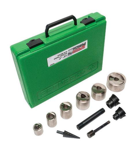 Mild Steel 3//8-Inch By 3.8-Inch Greenlee Speed Punch 7212SP14 Drawstud Short