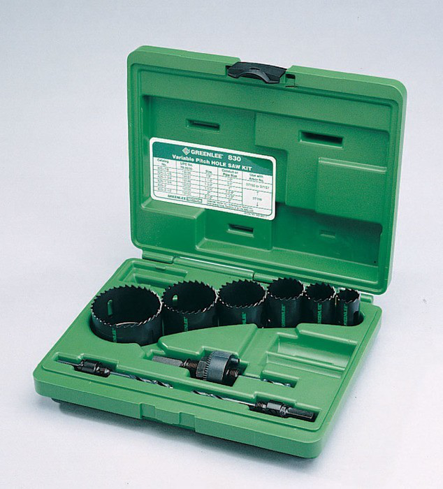 GRE 830 6-SET HOLESAW KIT