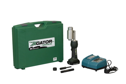 GREENLEE LS50L11A PUNCHING TOOL KIT BASE UNIT WITH 120V CHARGER AND