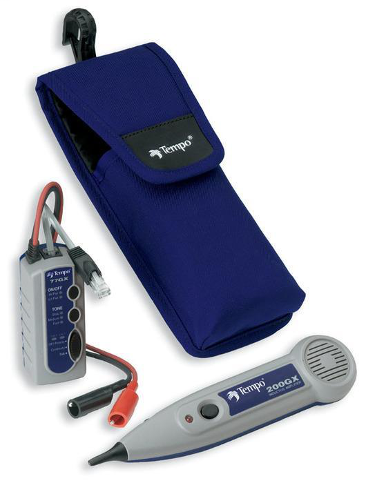 Greenlee 711K Independent Talk Battery Professional Tone and Probe Kit