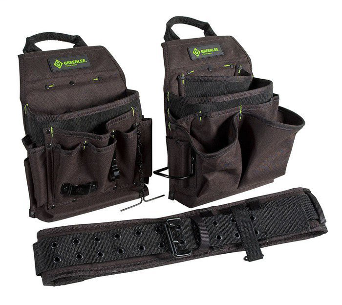 Greenlee,0158-16,POUCH/BELT COMBO 3PC