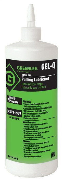 Greenlee,GEL-Q,LUBE,GEL-1 QUART