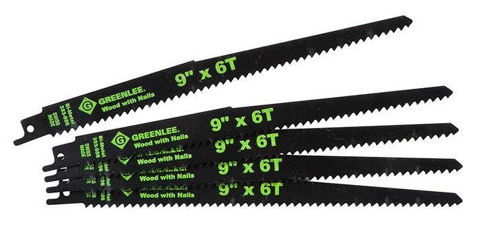 GRE 353-956 RECIP BLADES 9IN X 6TPI (5PK)