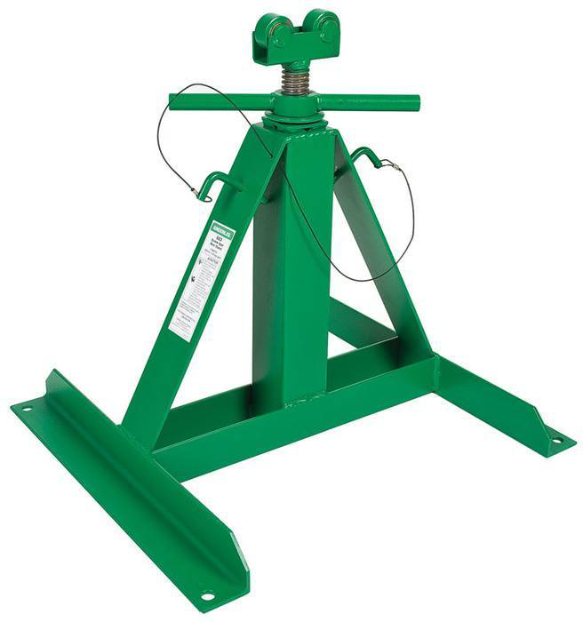 GREENLEE 683 SCREW TYPE REEL STAND 54IN MAXIMUM HEIGHT