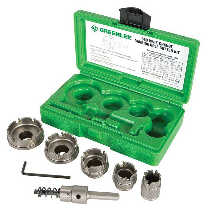GRE 660 5PC HOLE CUTTER SET