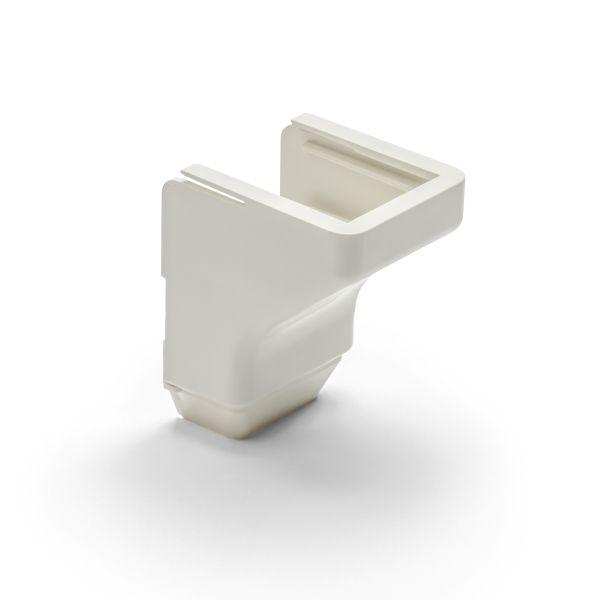 "TYT Ceiling Drop, 1-1/4"", 2-Piece, PVC, Office White, 10 Individual/bag"