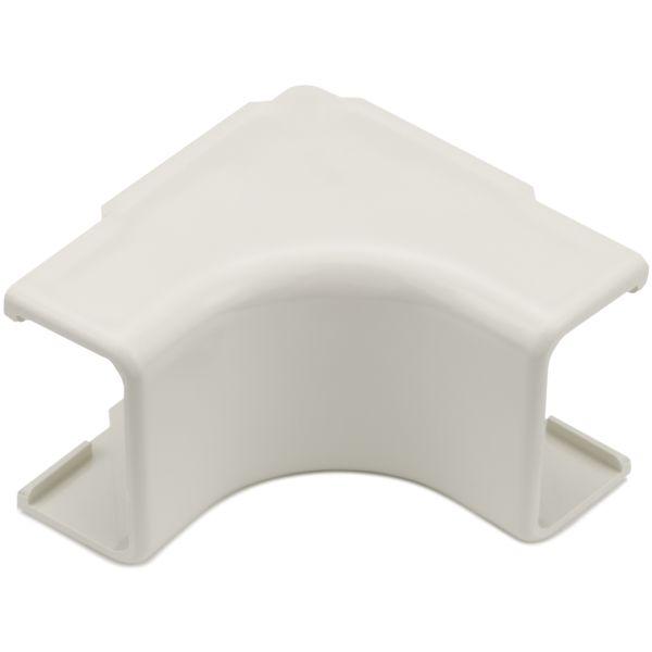 "Mayer-Internal Corner Cover, 1-1/4"", 1"" Bend Radius, PVC, Office White, 1/bag-1"