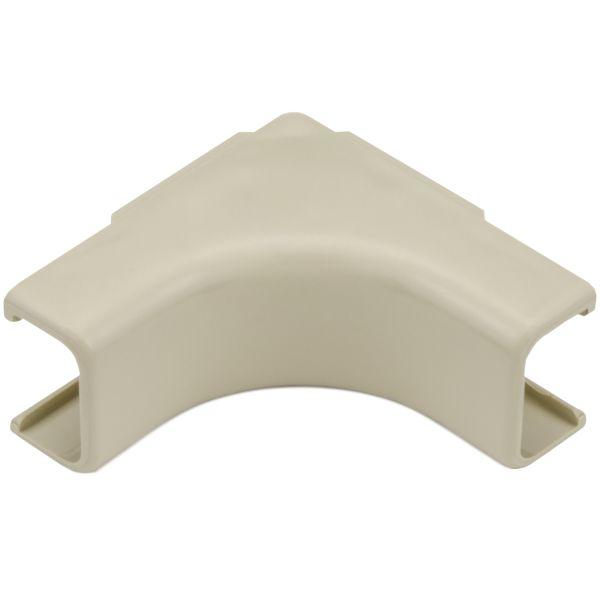 "Mayer-Internal Corner Cover, 3/4"", 1"" Bend Radius, PVC, Ivory, 1/bag-1"
