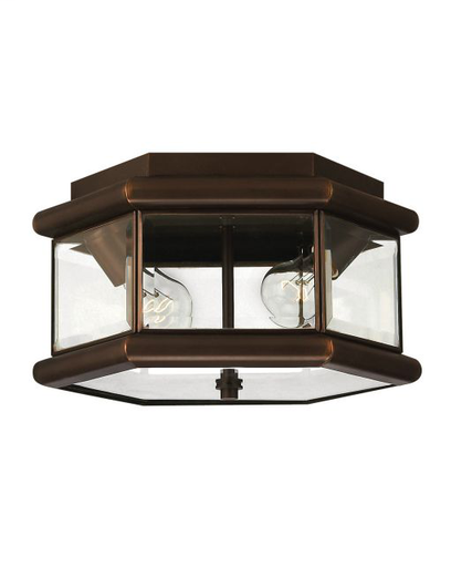 HNK 2429CB 2-40W CEILING FIXTURE