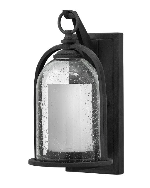 HINK 2614DZ 1-100W AGED ZINC OUTDOOR QUINCY 6.75