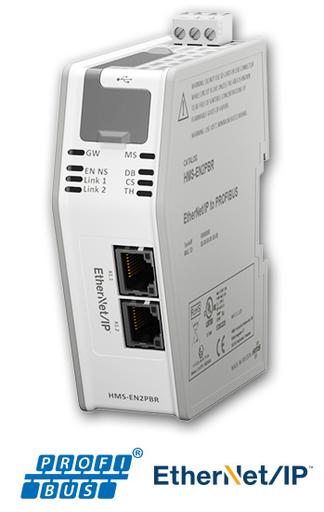 EtherNet/IP Adapter/Slave to Profibus Master
